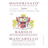 Вино Mascarello Barolo Monprivato, 2009 (0,75 л)
