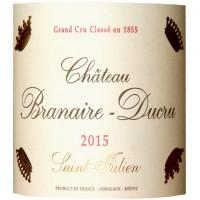 Вино Chateau Branaire-Ducru, 2015 (0,75 л)