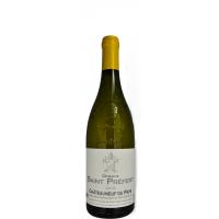 Вино Domaine Saint Prefert Chateauneuf du Pape Blanc, 2018 (0,75 л)