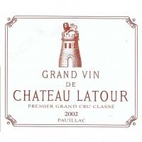 Вино Chateau Latour, 2002 (0,75 л)