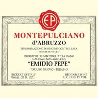 Вино Emidio Pepe Montepulciano d'Abruzzo, 2005 (0,75 л)