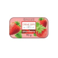 Мыло Gallus Creme Seife Strawberry (90 г)