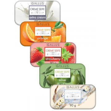 Мыло Gallus Creme Seife Strawberry (90 г)