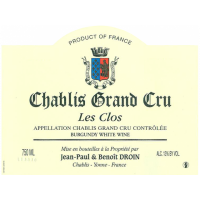 Вино Droin Chablis Grand Cru Les Clos, 2011 (0,75 л)