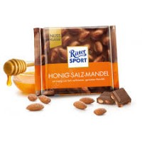 Шоколад Ritter Sport Honig-Salz-Mandel, 100 г