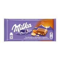 Шоколад Milka Cacahuete y Caramelo (100 г)