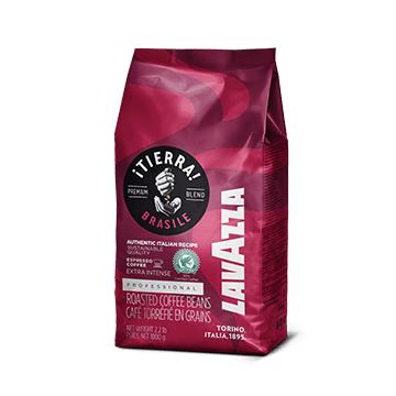 Кофе Lavazza Tierra Brazil Extra Intense (1 кг)