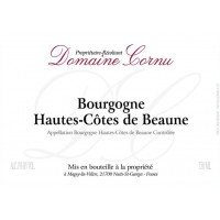 Вино Domaine Cornu Bourgogne Hautes Cotes de Beaune Blanc, 2017 (0,75 л)