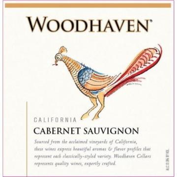 Вино Woodhaven Cabernet Sauvignon, 2017 (0,75 л)