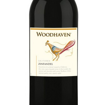 Вино Woodhaven Red Zinfandel California, 2017 (0,75 л)