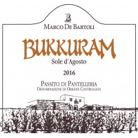 Вино Marco De Bartoli Bukkuram Sole d'Agosto, 2016 (0,75 л)