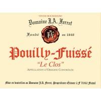 Вино Louis Jadot Pouilly-Fuisse Le Clos Domaine Ferret, 2017 (0,75 л)