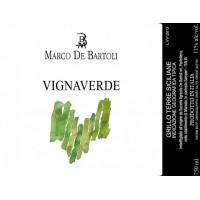 Вино Marco De Bartoli Vignaverde, 2018 (0,75 л)