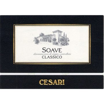 Вино Cesari Soave Classico (0,375 л)