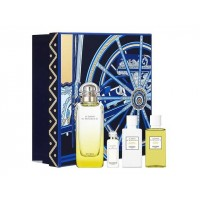 Набор Hermes Le Jardin de Monsieur Li (edt 100ml+edt 7,5ml+sh/gel 40ml+b/lot 40ml)