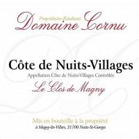 Вино Domaine Cornu Cote de Nuits Villages Les Clos de Magny, 2017 (0,75 л)
