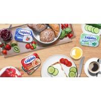 Сыр сливочный Exquisa йогурт с травами 14% (200 гр)