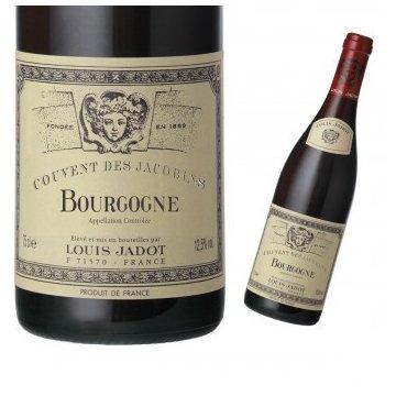 Вино Louis Jadot Bourgogne Couvent des Jacobins, gift box (0,75 л)