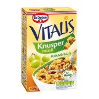 Мюсли Мюслі Dr.Oetker Vitalis Knusper Klassisch (600 г)