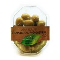 Антипасти зеленые оливки фаршированные сыром, 180 г