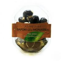 Антипасти черные маслины фаршированные сыром, 180 г