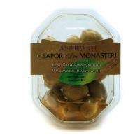 Антипасти зеленые оливки фаршированные вялеными томатами, 180 г