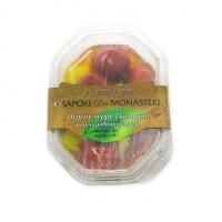 Антипасти перец черри в трех цветах фаршированный сыром M Invest BG, 180 г