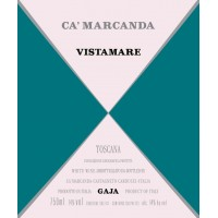 Вино Ca'Marcanda Vistamare, 2018 (1,5 л)