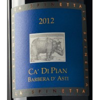 Вино La Spinetta Barbera d'Asti Ca di Pian, 2012 (0,375 л)