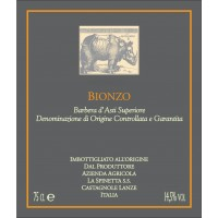 Вино La Spinetta Barbera d'Asti Superiore Bionzo, 2013 (0,75 л)