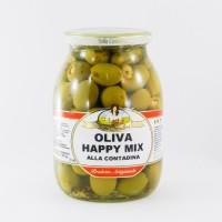 Оливки Bella Contadina oliva Happy Mix (1000 мл)