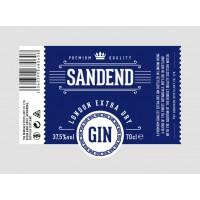 Джин Sandend Extra Dry (0,7 л)
