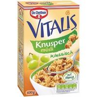 Мюсли Dr.Oetker Vitalis Knusper, 600 г