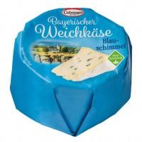Сыр Coburger Bayerischer Weichkäse Blau-schimmel с голубой плесенью 60% (150 г)