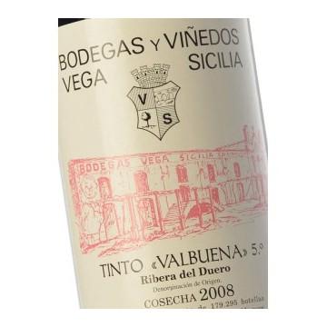 Вино Vega Sicilia Valbuena 5°, 2008 (0,75 л)
