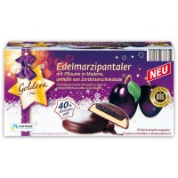 Шоколадные конфеты Goldora Edel marzipanen со сливой в мадере (300 г)