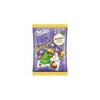 Шоколадные конфеты Milka Bonbons елка и снеговик (86 г)