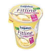 Крем-йогурт Exquisa Fitline ванильный (400 г)