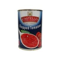 Очищенные порезанные помидоры Chopped Tomatoes Castello di Battipaglia (400 г)