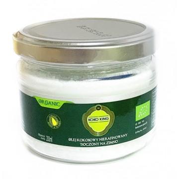 Не рафинированое органическое кокосовое масло Koko King (200 мл)