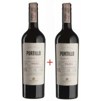 Набор Salentein Portillo Malbec (0,75 л) + Salentein Portillo Malbec (0,75 л)