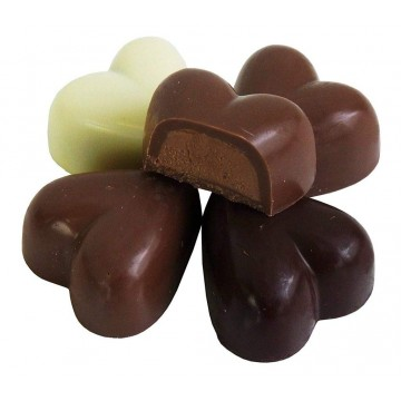 Конфеты сердечка Mini-Belgian Hearts Praline (45 г)