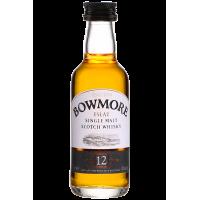 Виски Bowmore 12 Years Old (0,05 л)