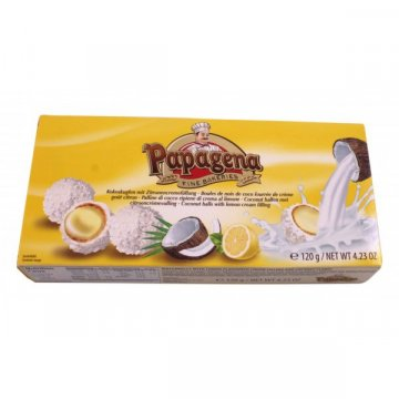 Конфеты Papagena Coconut Lemon, 120 г