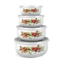Набор емкостей для хранения Banquet Овощи (4 шт.)