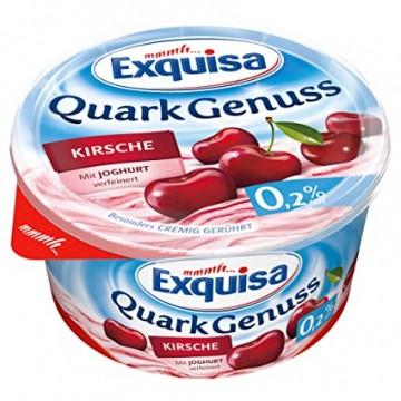 Сырный десерт Exquisa Вишневый 0,2% (500 г)