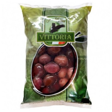 Оливки Vittoria Olive Nero Verdi Dolci Giganti (500 мл)