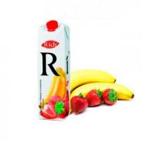 Сок Rich Банан Клубника, 1 л