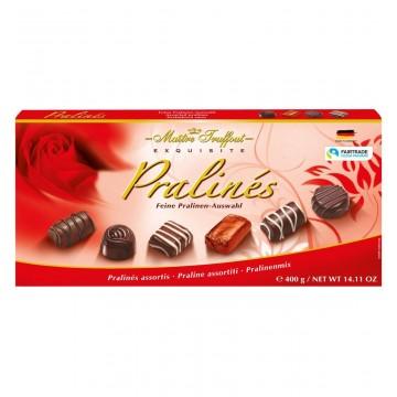 Конфеты Maitre Truffout Pralines Exquisite ( красные ), 400 г