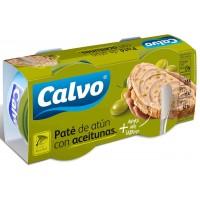 Паштет из тунца с оливками TM Calvo (2х75 г)